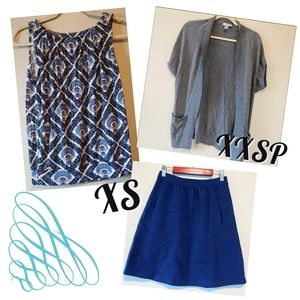 Featured outfit ensemble business casual skirt xs